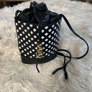 Vintage Charles Jourdan bucket bag